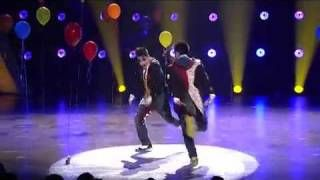 Robert and Dominic Hip Hop