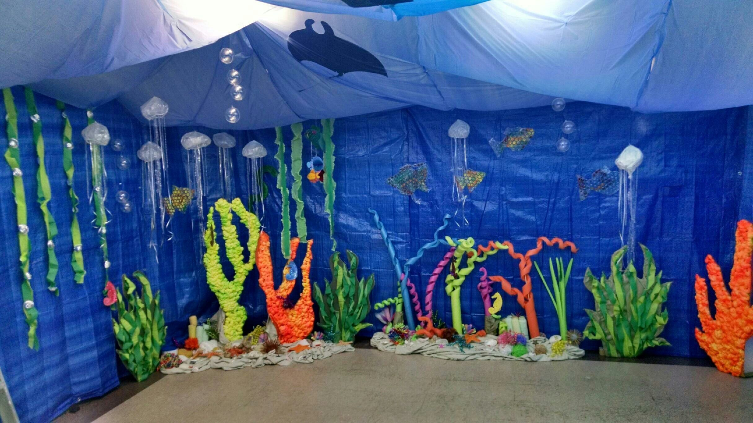 Diy Underwater Birthday Party Decorations With Images
