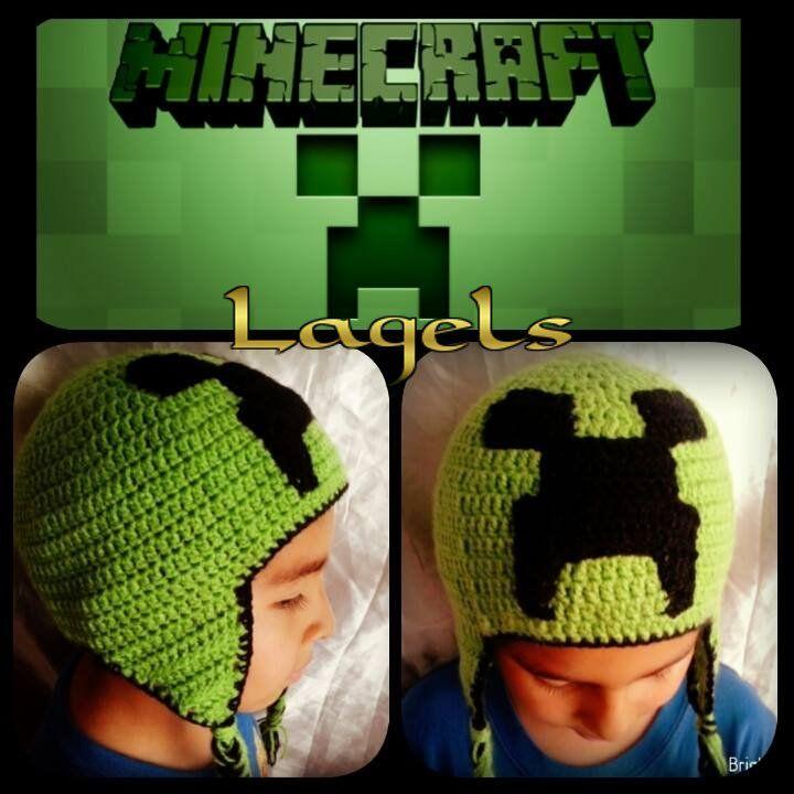 Perfecto Los Patrones De Crochet Minecraft Motivo - Manta de Tejer ...
