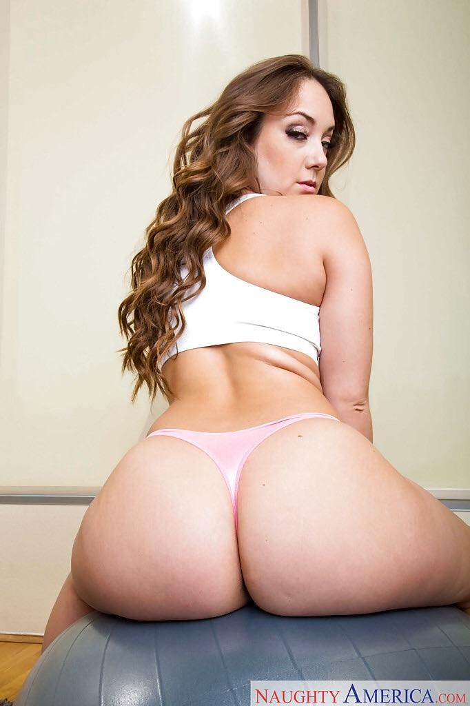 Curvy Ass In Thongs