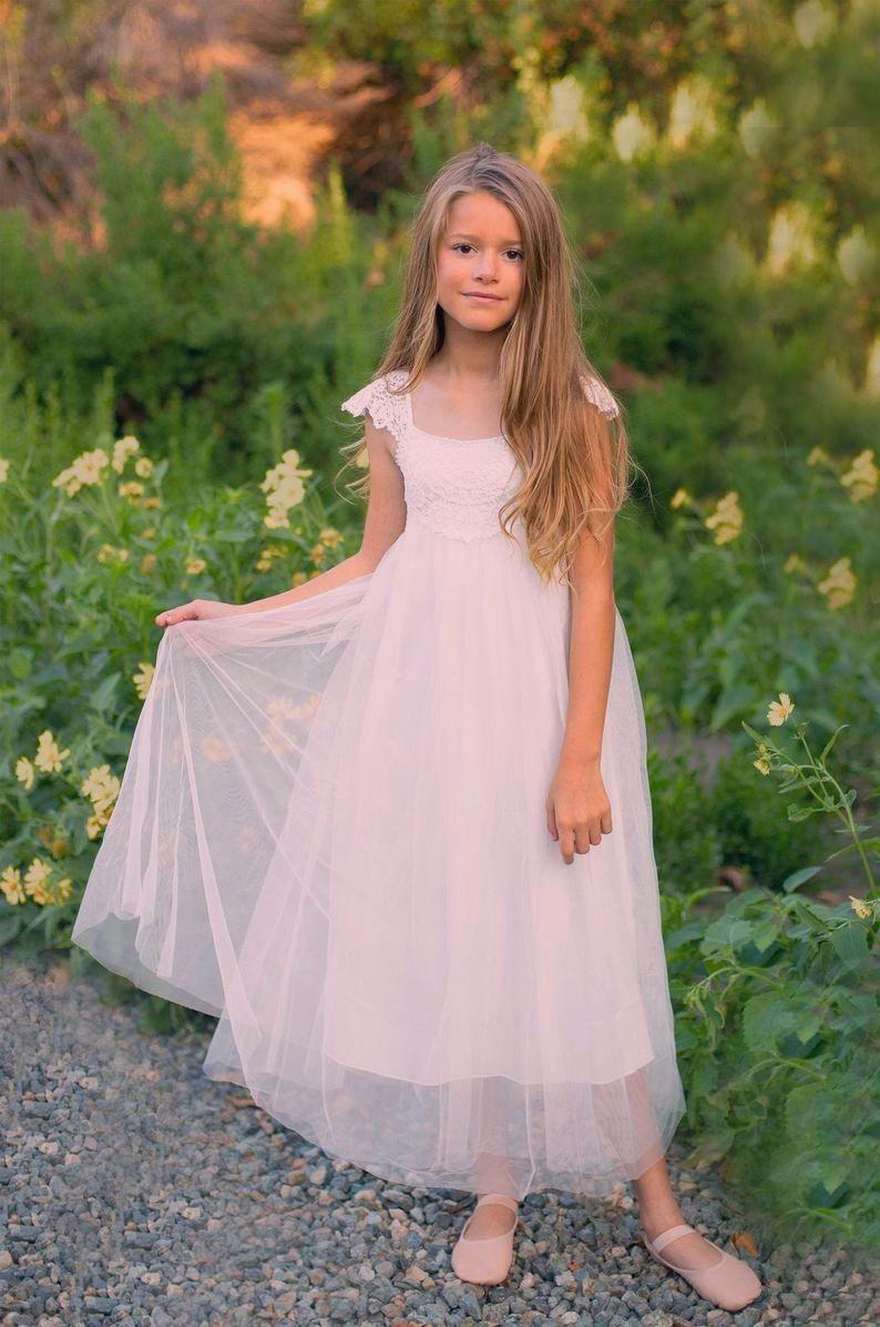 Beach wedding dress boho bohemian flower crowns in 2020