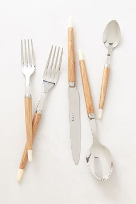 Anthropologie Atelier Flatware #anthrofave #anthropologie