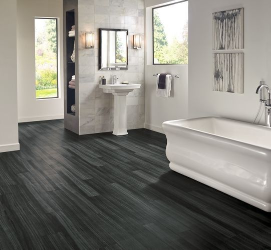 Best Vinyl Plank Flooring In Bathroom Luxury Inspiration Transitional Other