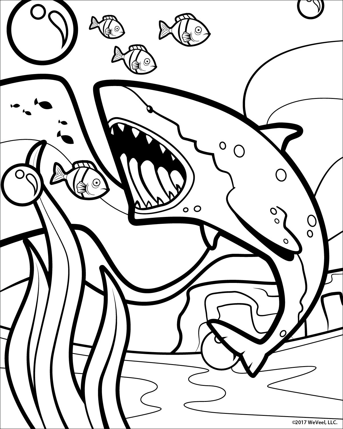 Coloring Pages Sea Life Free Printable