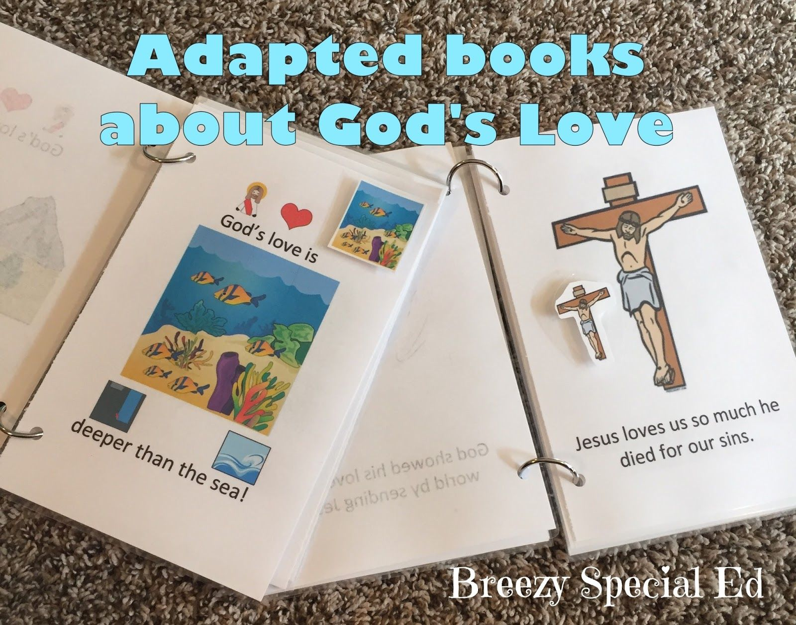 God's Love - Adapted and Interactive Books for Special Needs