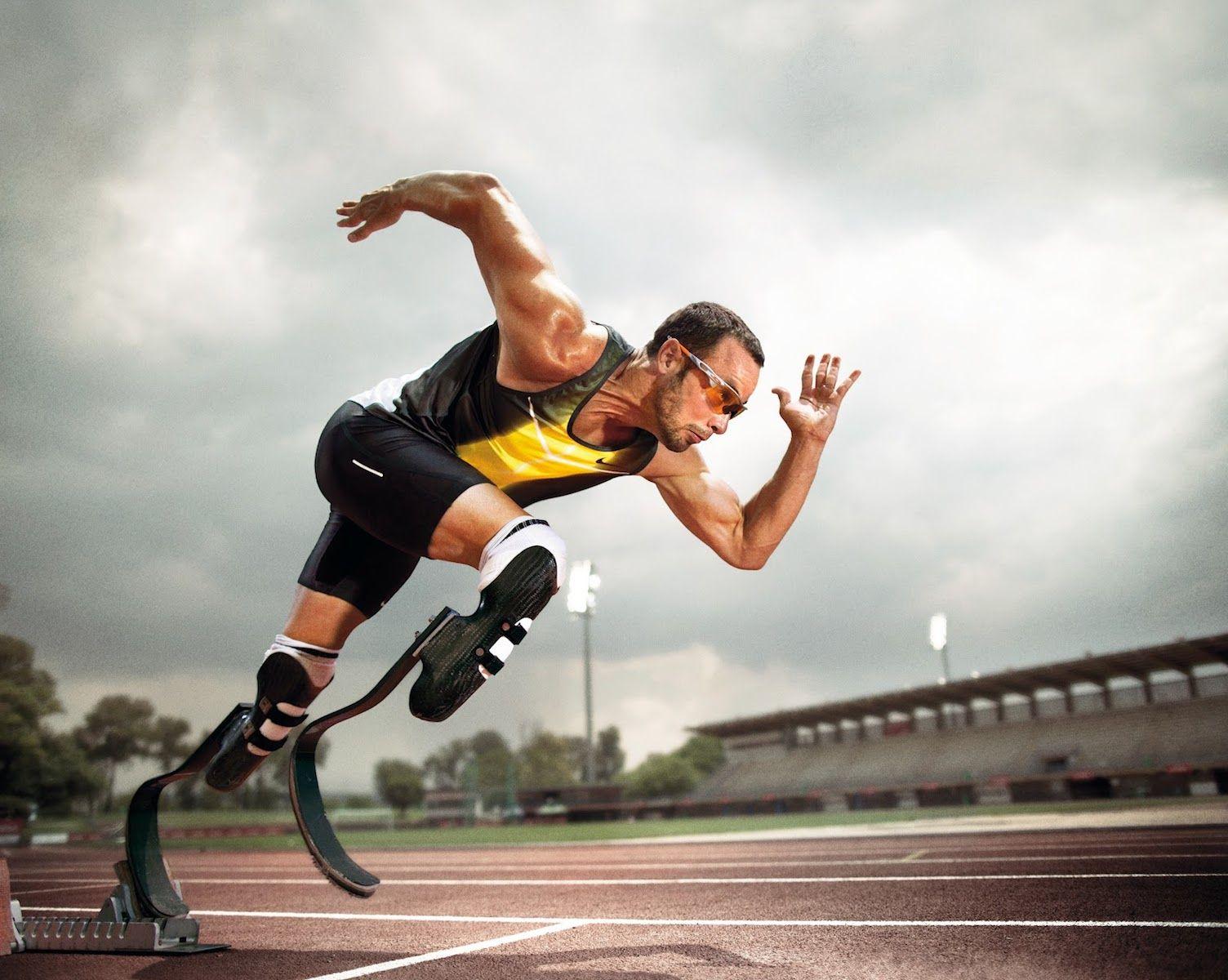 Oscar Pistorius Athlete Hd Wallpaper Wallpaper Details Oscar Pistorius Sports Photography Paralympics