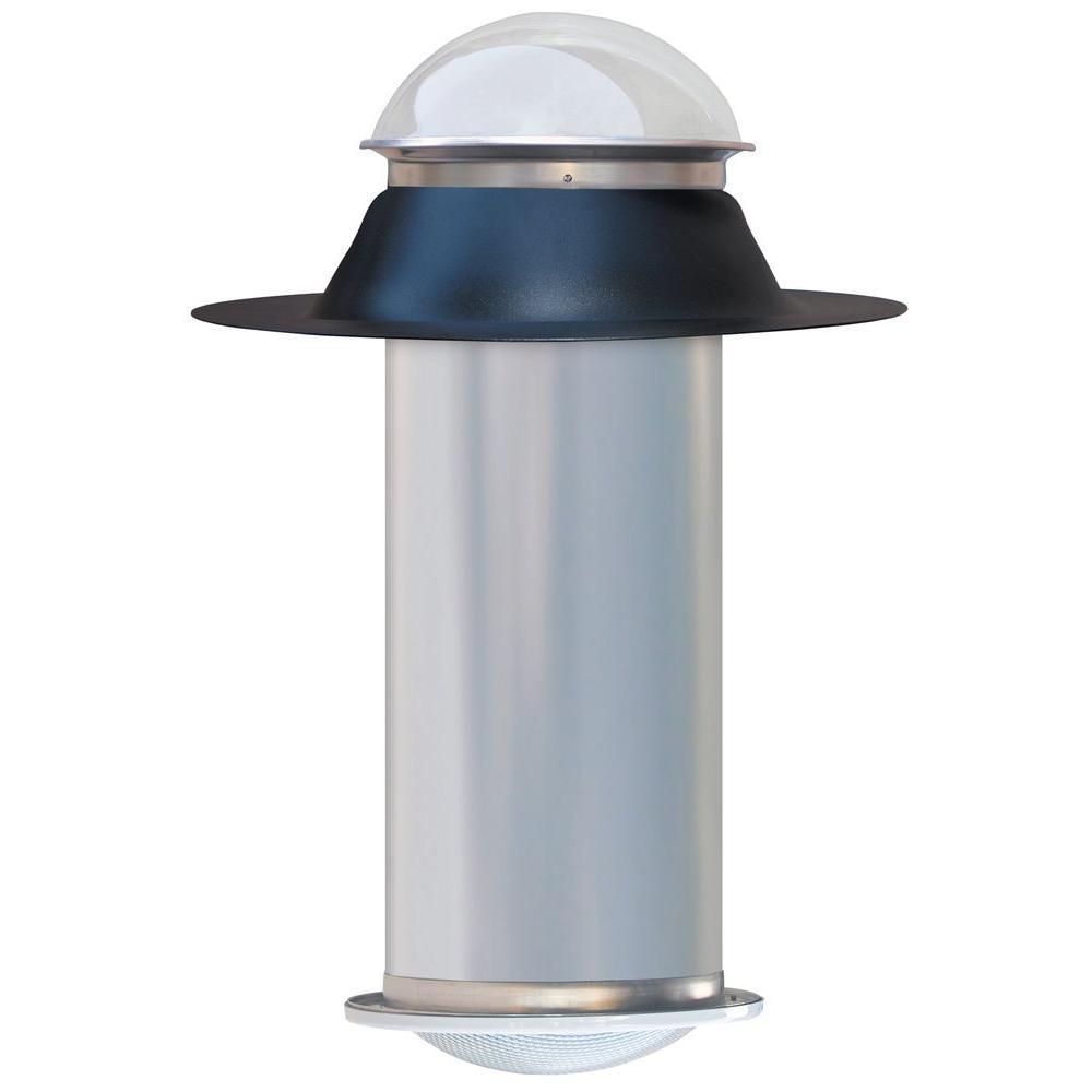 Solarskylite Diy Tubular Skylight Do It Yourself 10 In Skylite Kit Energy Efficient Lighting Skylight Home Depot
