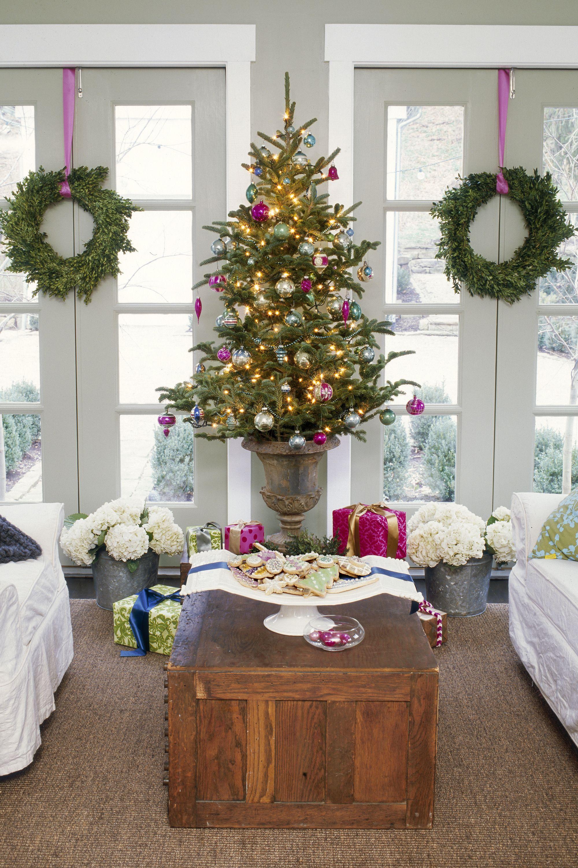 50 festive do it yourself christmas wreath ideas varios y decoracin moss ivy and eucalyptus wreath solutioingenieria Gallery