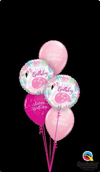 Pink Flamingo Party Birthday Balloons Flamingos Balloon Gift