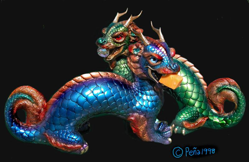 Sun and Moon dragon by Reptangle.deviantart.com