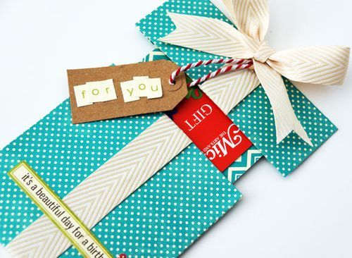 More Fun Gift Card Ideas With Emily Pitts Cards And Tags Gifts