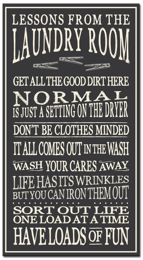 Lessons From The Laundry Room 16in. Wood Sign images