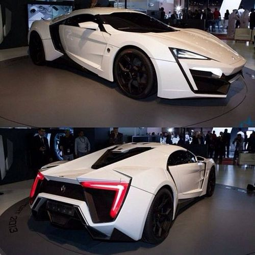 The Most Expensive Car 3,4 Million Dollars