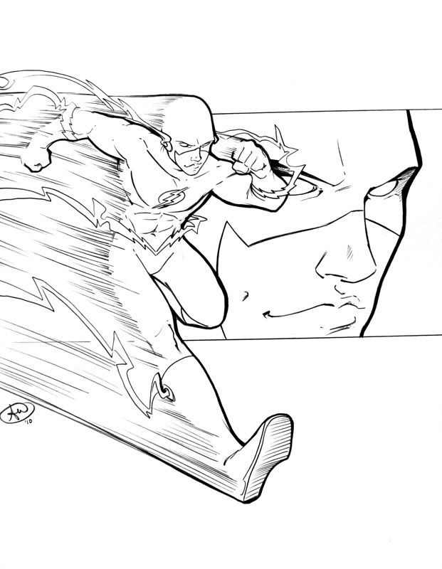 Flash c2e2 sketch by *AdamWithers on deviantART | Flash ...