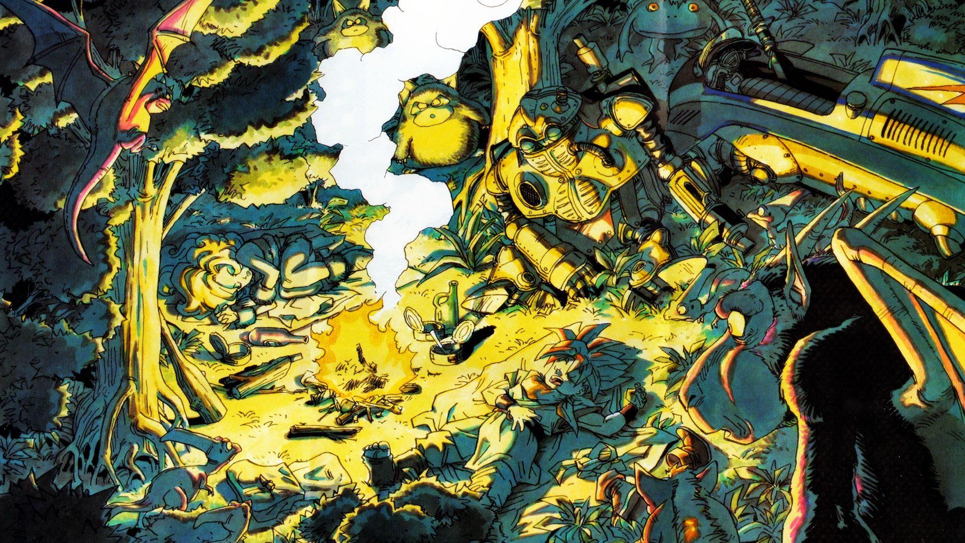 Chrono Trigger Wallpaper 1920x1080 Retro Games Wallpaper
