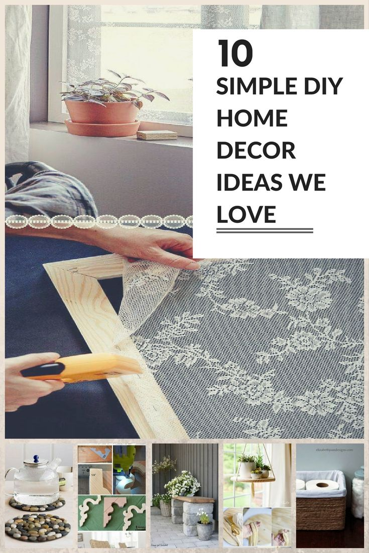 17 Simple DIY Home Decor Ideas We Love  Catastrofe Bella  Home