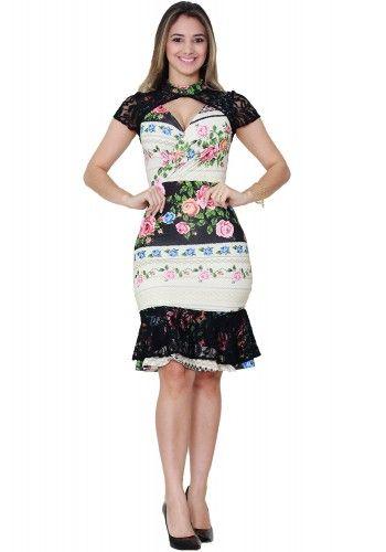 fbf3ddc15 Vestido Tatá Martello | Elegante y bonita | Vestidos, Vestidos de ...