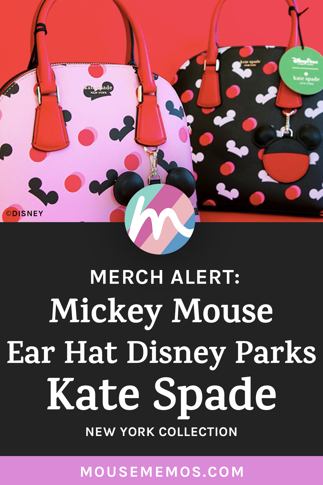 sale retailer 097c3 55a42 Merch Alert  Mickey Mouse Ear Hat Disney Parks Kate Spade New York  Collection — Today