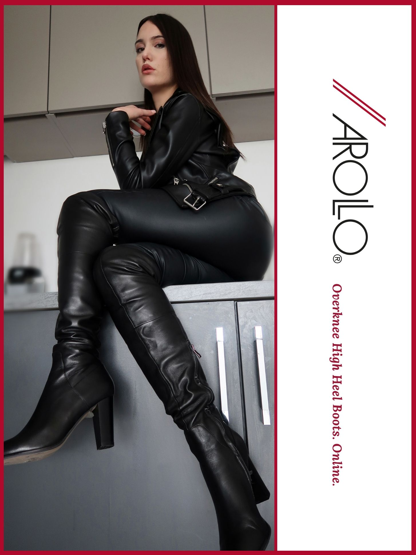 AROLLO Overknee Stiefel – gemacht für Tag und Nacht | AROLLO