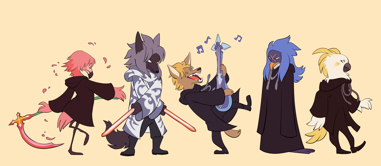 """cool blog — entitled """"Everyone in the Kingdom Hearts"""
