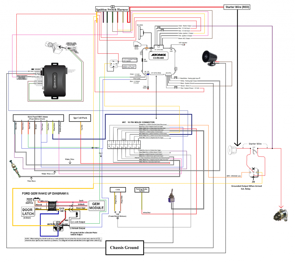 autopage alarm wiring diagram for ford wiring diagram autopage alarm wiring system for [ 1024 x 907 Pixel ]