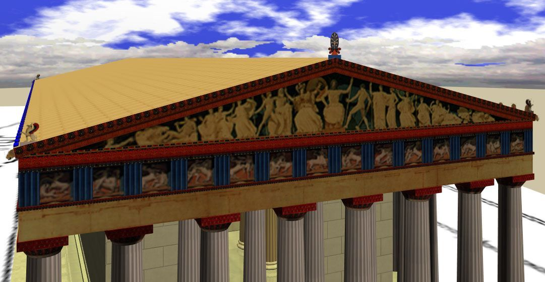 A digital reconstruction of the Parthenon Pediment ...