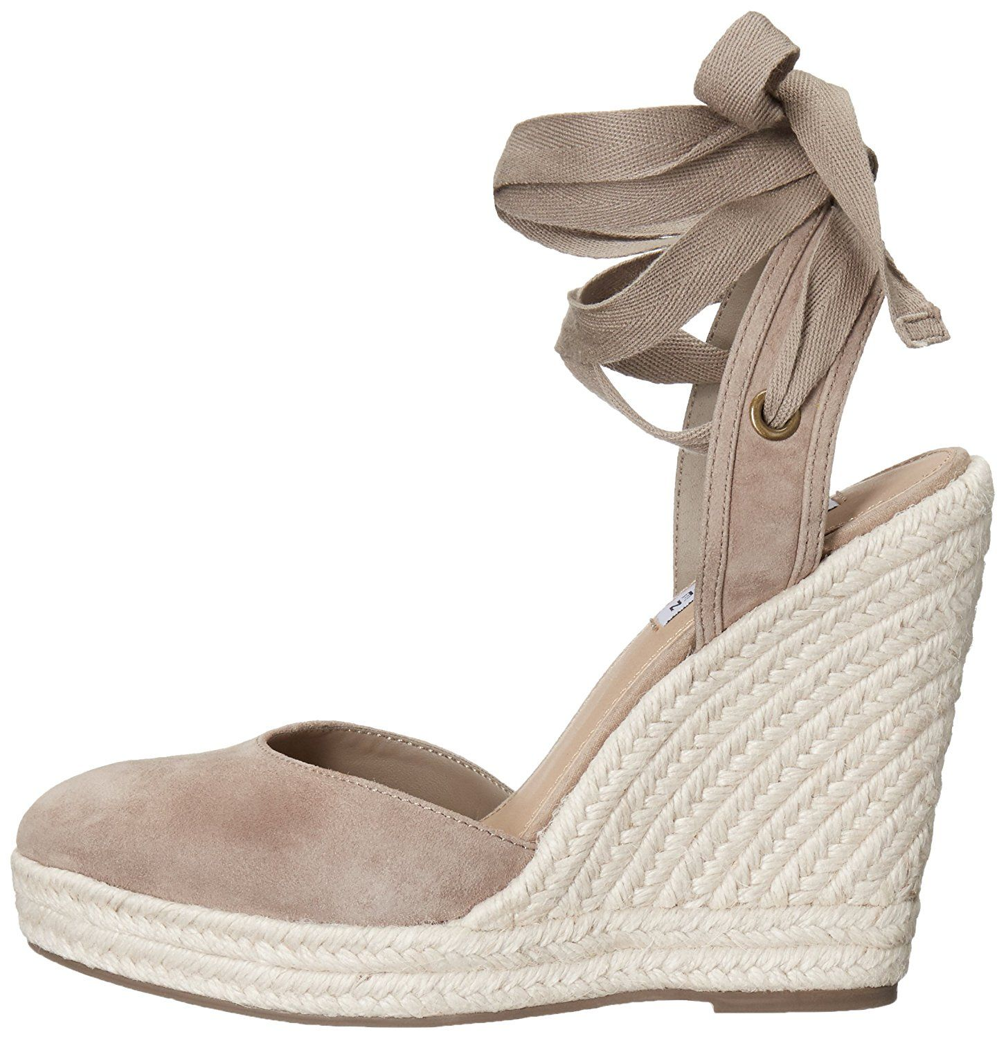4e9ec5f3e82 Steve Madden Women s Barre Espadrille Wedge Sandal    Click image for more  details. (This is an affiliate link)  shoelover