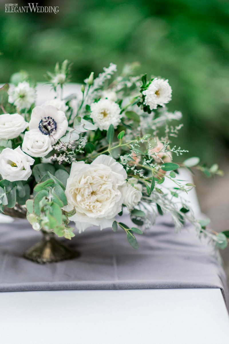 Green And White Wedding Flowers Fresh Wedding Centrepieces Outdoor
