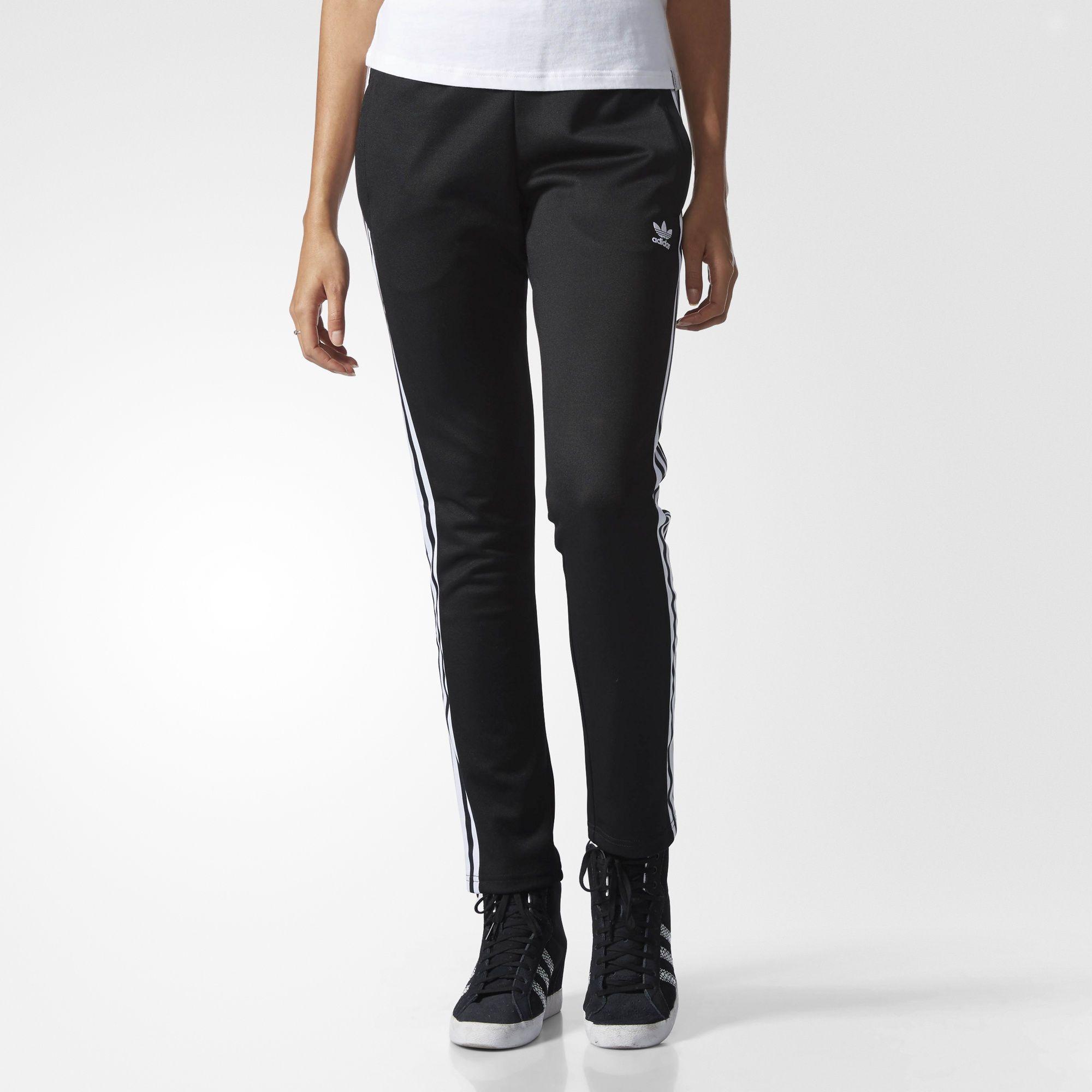 Verkauf Jogginghosen Streifen Hose Originals Schwarz Adidas