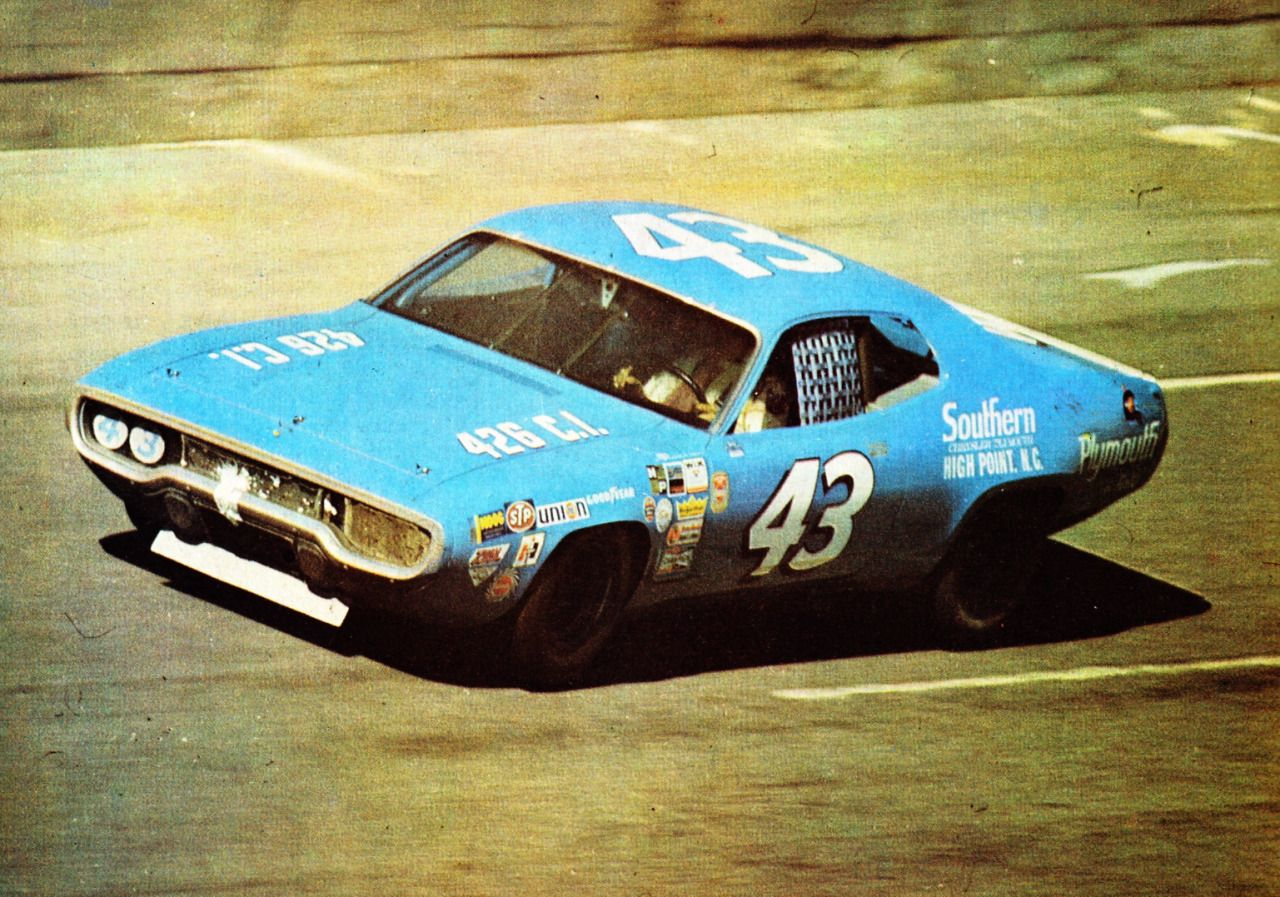 Luimartins Richard Petty Daytona Cars Pinterest