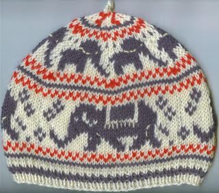 Last week I came up with an Elephant chart for someone at Ravelry (the big elephant is adapted from an old filet ...