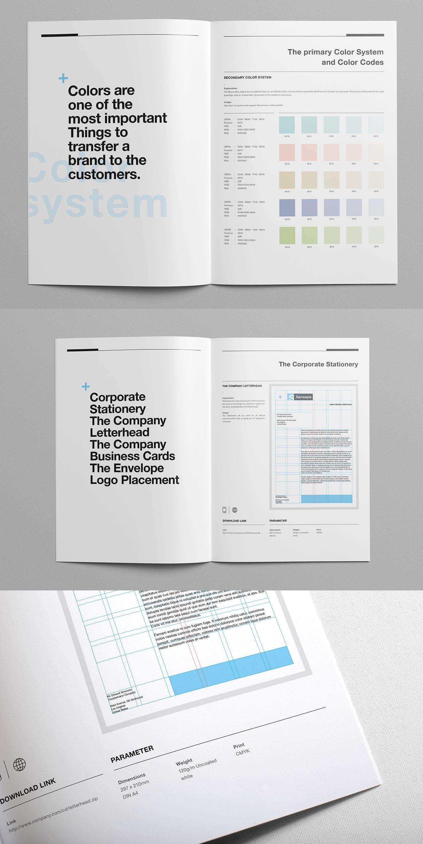 Brand Manual and Identity Template u2013 Corporate