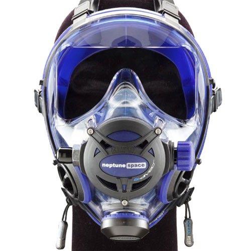 Ocean reef neptune space g diver full face mask scuba - Oceanic dive equipment ...
