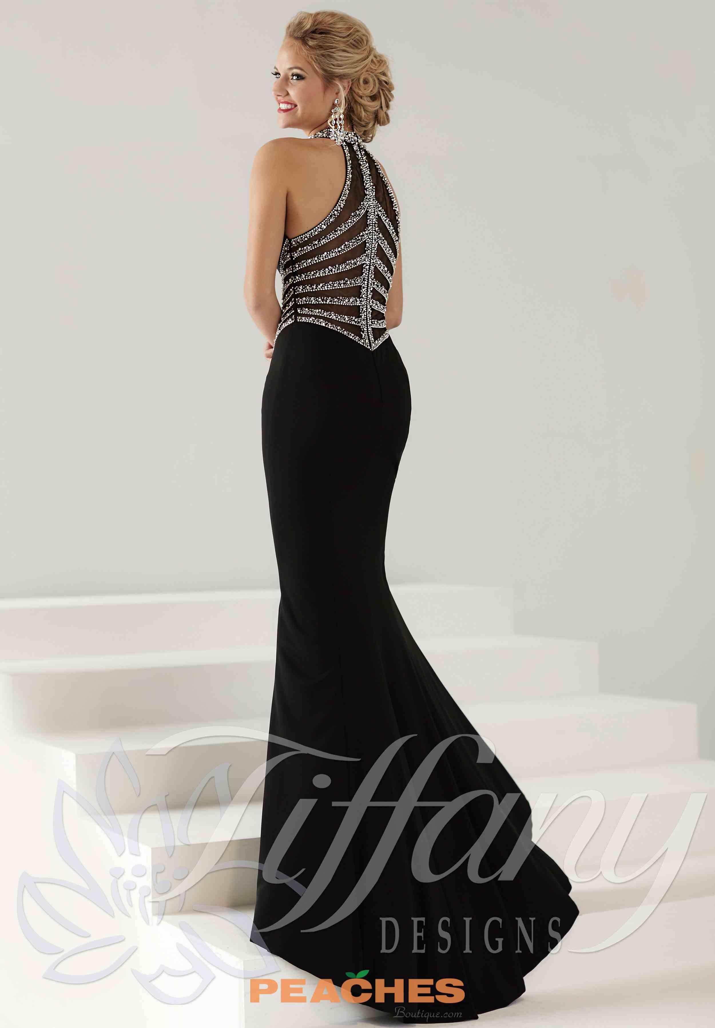 Tiffany v neckline celebrity fitted dress tiffany