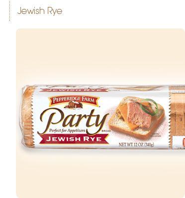 Pepperidge Farm Party Breads Pepperidge Farm Party Bread Party Bread Recipe