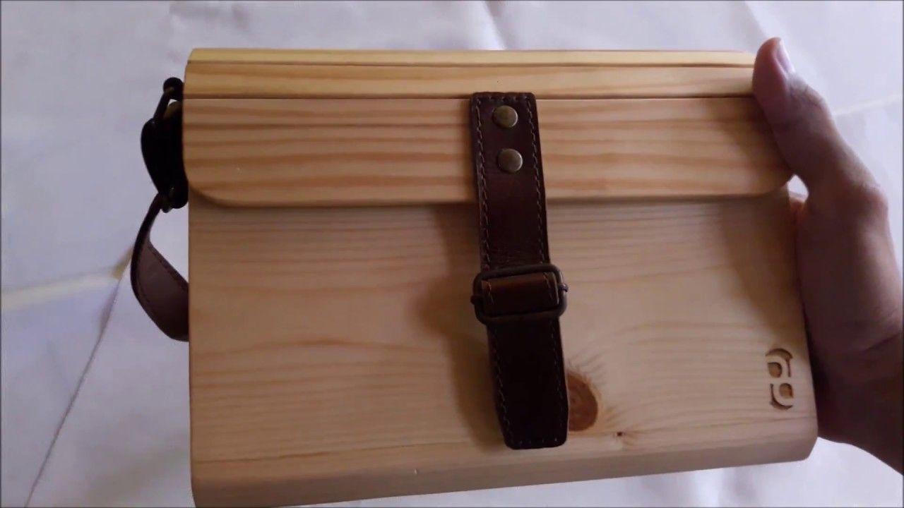 Kerajinan Tas Kayu Berbahan Kayu Jati Belanda Pallet Woodbag