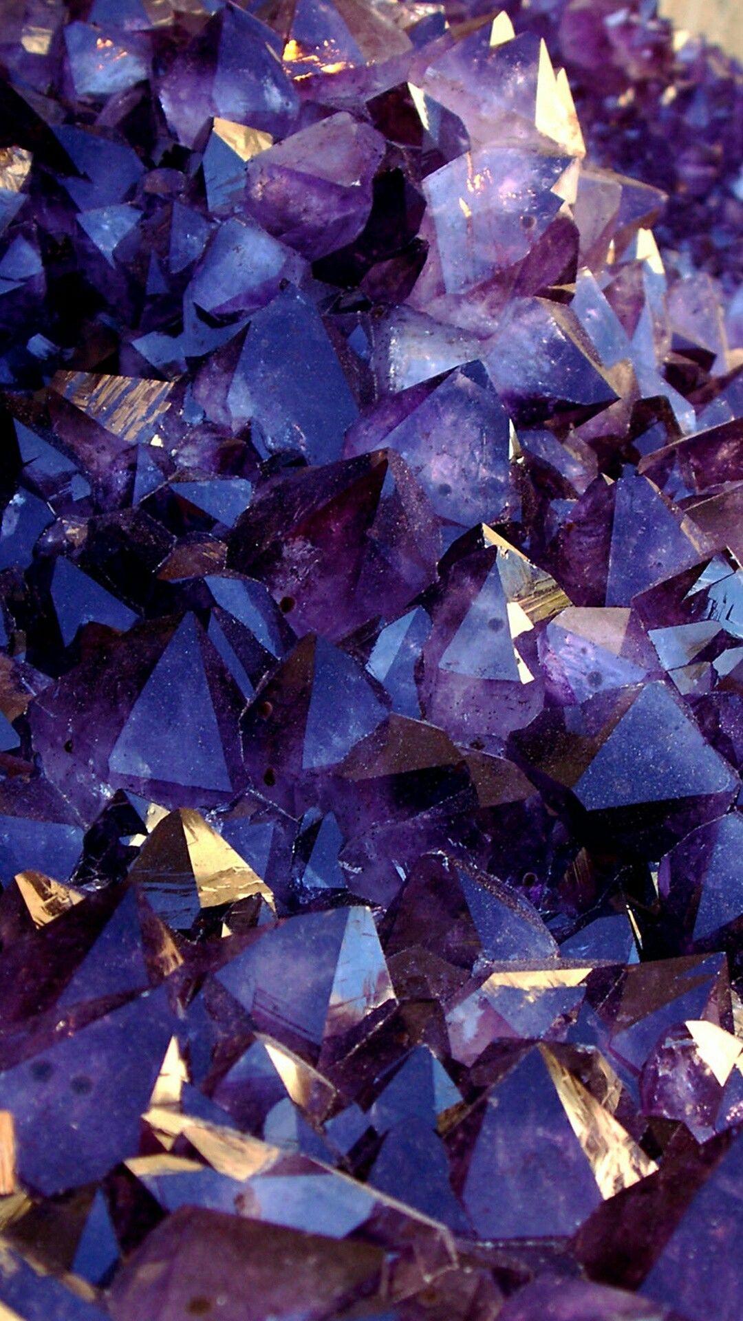 nuances de violet glitter crystals minerals rocks. Black Bedroom Furniture Sets. Home Design Ideas