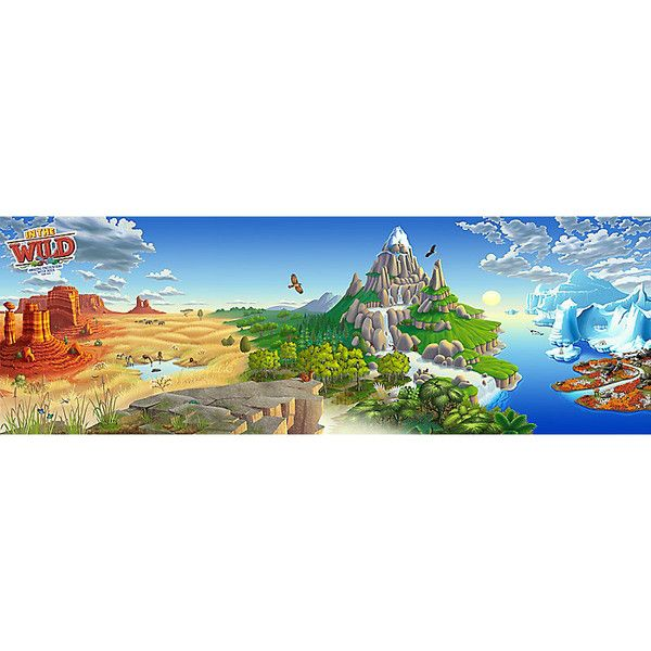 Super Duper Sized Backdrop - In The Wild VBS by LifeWay | In
