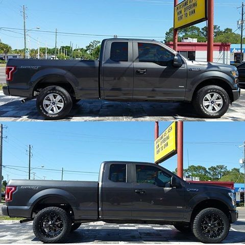 Image Result For Before And After Lifted Ford F150 Ford F150