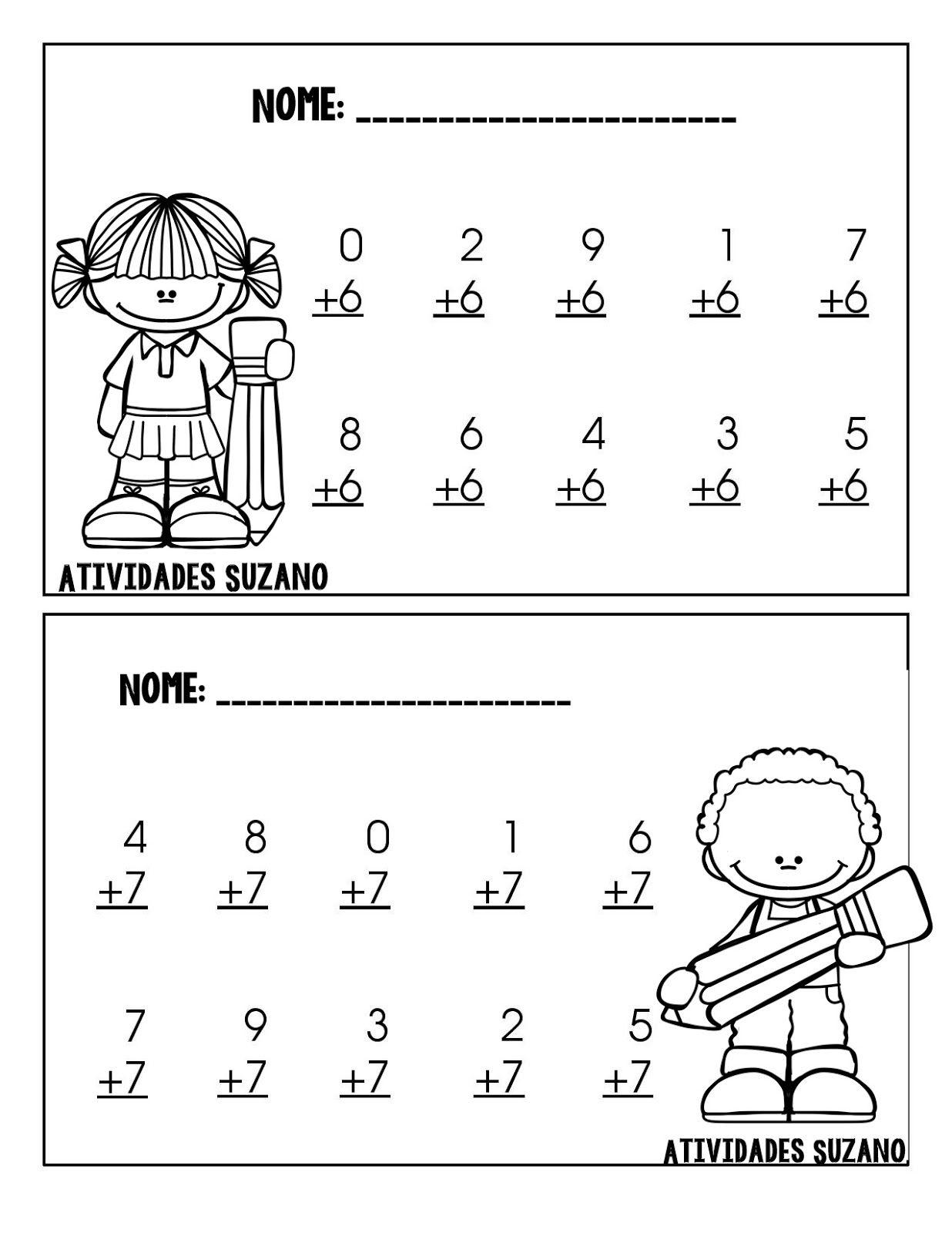Atividade Pronta Quantidade Okul Iin T Education Math