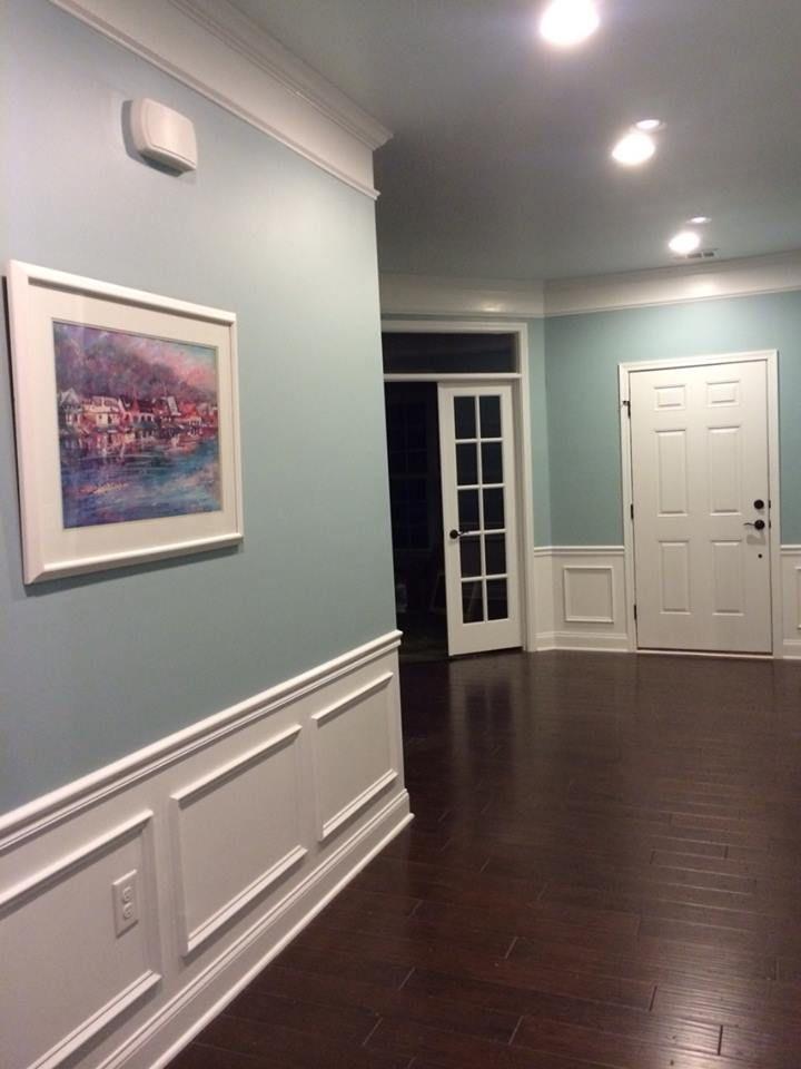 Sherwin Williams Rain Hallway In 2019 Rain Painting