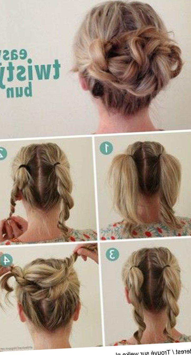 30++ Coiffure facile a faire sur cheveux court inspiration