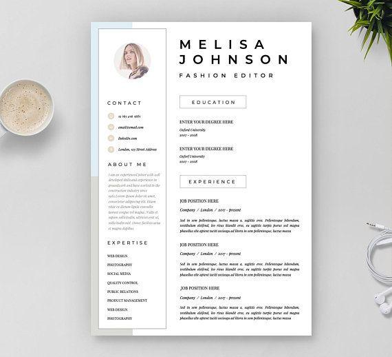 Resume Template CV Template Resume CV design Teacher #resumetemplate