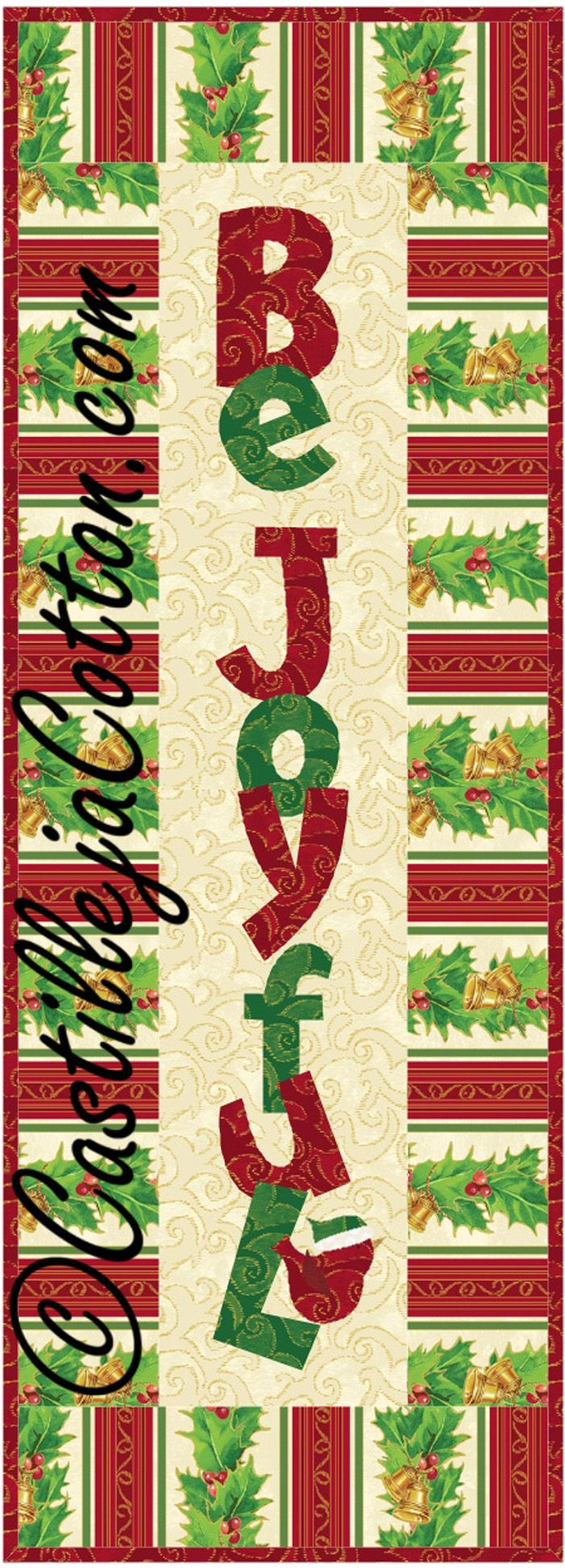 Be Joyful Quilt Pattern CJC-48023 (advanced beginner, wall hanging ...