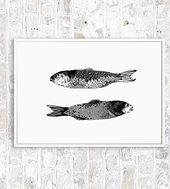 Small Fish of the Andaman Sea, Chrysa Koukoura Illustration