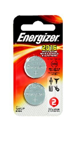 Energizer Lithium Coin Watch/Electronic Battery 2016, 2-Count //Price: $1.5 & FREE Shipping //     #hashtag2