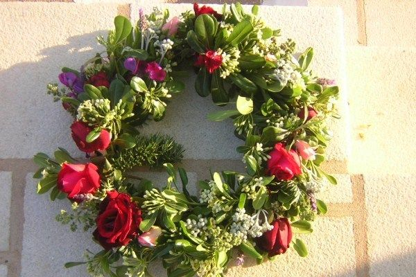 The Greek Custom Of Protomagia The May Flower Wreath