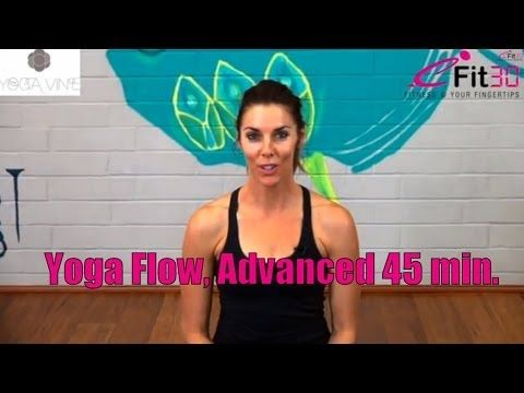 Yoga Flow Full 45 Minutes Advanced Try This 45min Strong Flow Yoga Class Part Of A Series Fro Yoga Flow Kundalini Yoga Poses Yoga Sequence For Beginners