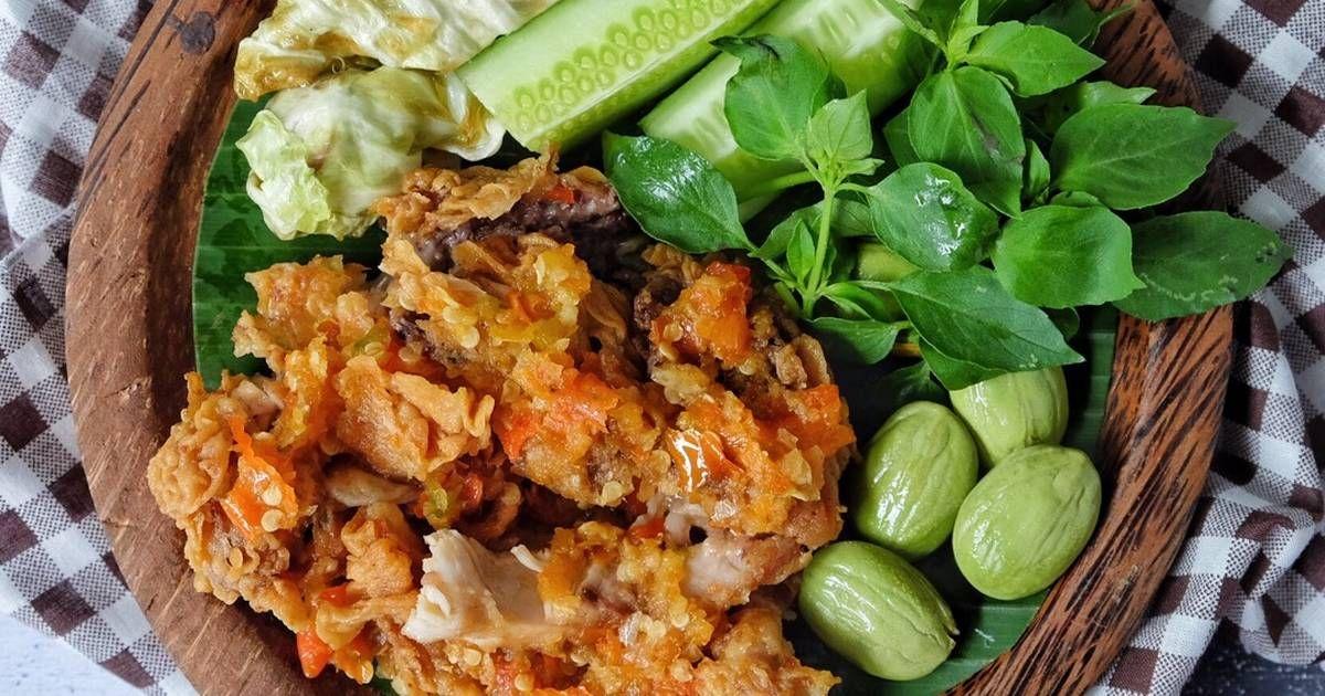 Resep Ayam Geprek Sambel Bawang Oleh Susi Agung Resep Resep Ayam Masakan Makan Malam