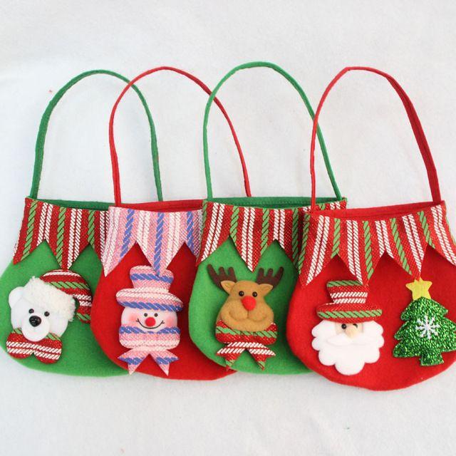 2016 nueva bolsa de caramelos de regalo de navidad de pap - Caramelos de navidad ...